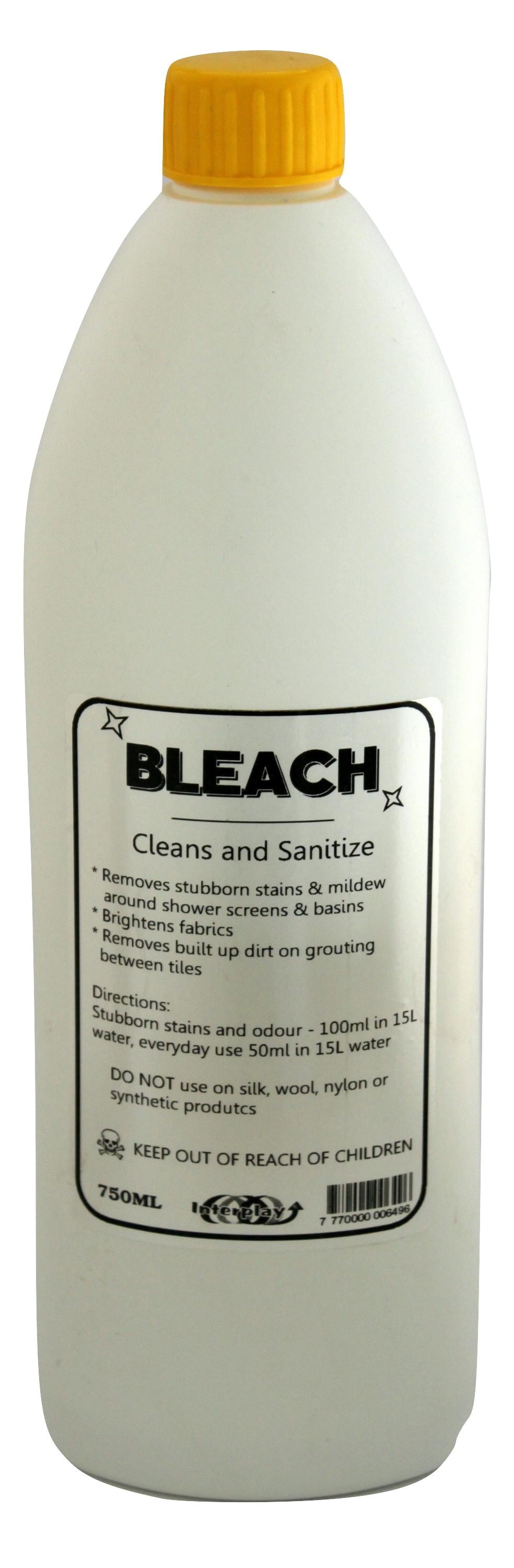 bleach-